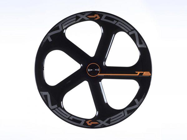 5 spoke track wheel